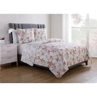 VCNY Home Jasmine Reversible Floral Duvet Cover Set