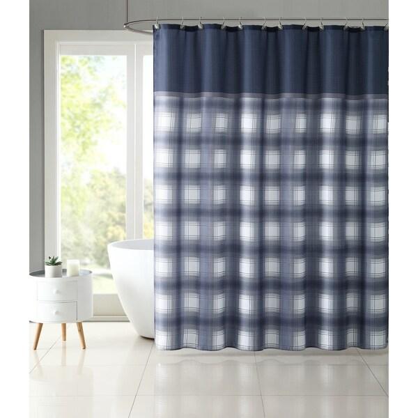 Shop VCNY Home Bradley Plaid Shower Curtain Set