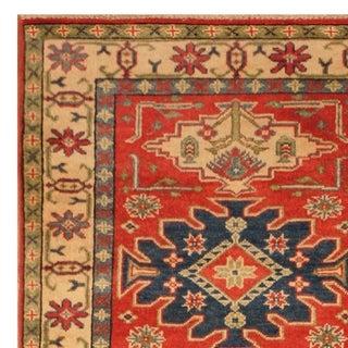 Handmade Kazak Wool Rug (Afghanistan) - 2'10 x 6'10