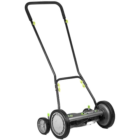 "Earthwise 16"" Reel Mower w/ Trailing Wheels"