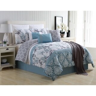 VCNY Home Ashley Pieced Floral Comforter Set