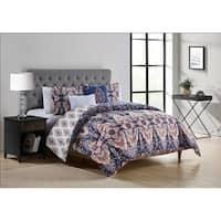 Copper Grove Vitebsk Reversible Damask Comforter Set