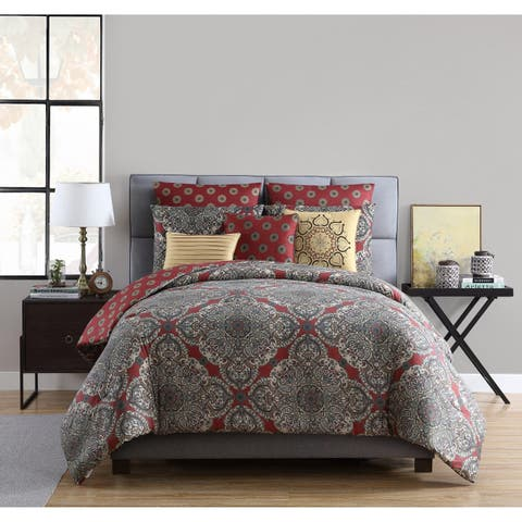 Copper Grove Kalesija Reversible Medallion Comforter Set