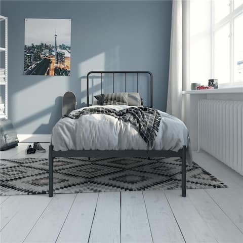 Porch & Den Alderview Metal Bed