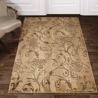 Superior Quincy Floral and Vines Area Rug