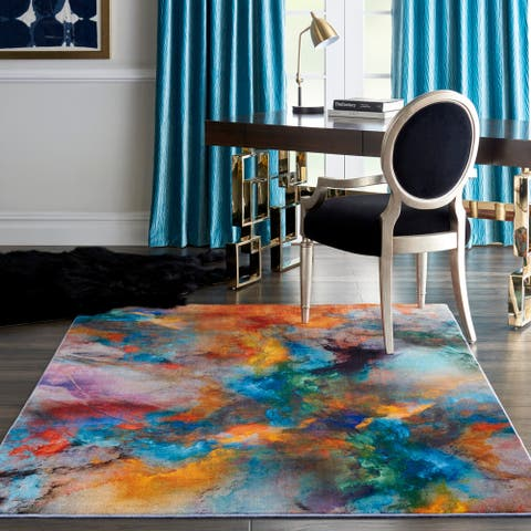 Nourison Le Reve Abstract Area Rug