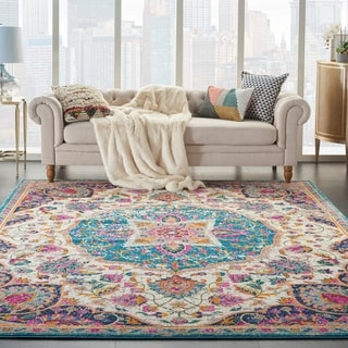 The Curated Nomad Cayuga Medallion Area Rug