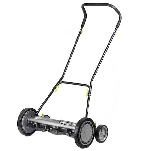 Earthwise 20- Inch Push Reel Mower w/ Trailing Wheels
