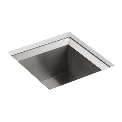 "Kohler Poise 18"" X 18"" X 9-1/2"" Under-Mount Single-Bowl Bar Sink"