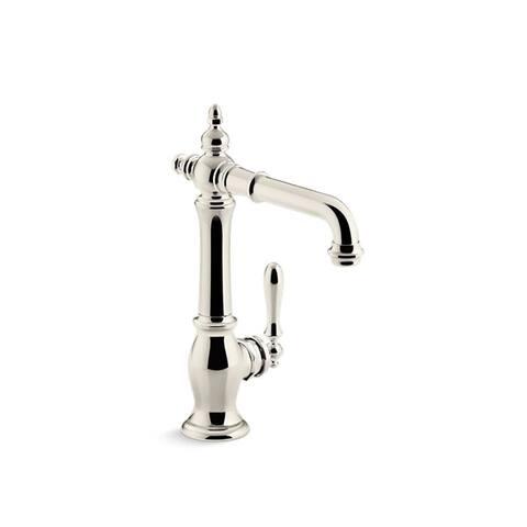 Kohler Artifacts Bar Sink Faucet, Victorian Spout Design