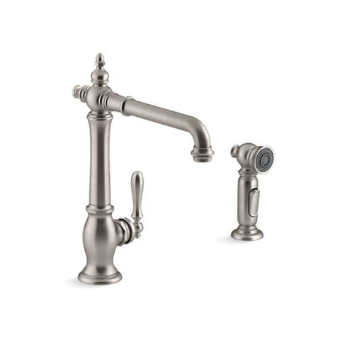 Kohler Artifacts Kitchen Faucet K-99265-VS Vibrant Stainless With Sidespray