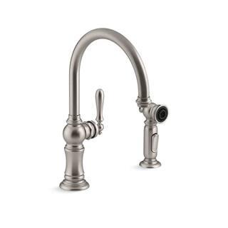 Buy Stainless Steel Finish Kohler Kitchen Faucets Online