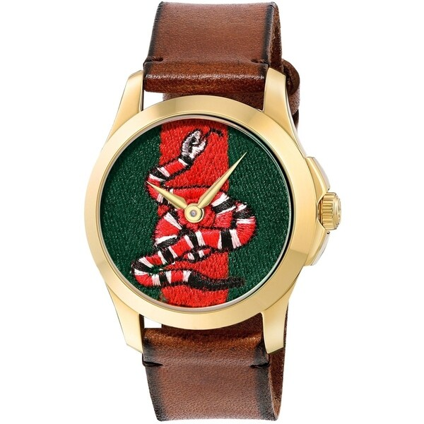afc93d5ed85 Shop Gucci Le Marche Des Merveilles Mens Watch YA1264012 - Free Shipping  Today - Overstock - 26458082