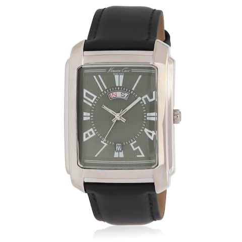 Kenneth Cole New York Leather Mens Watch KC1326