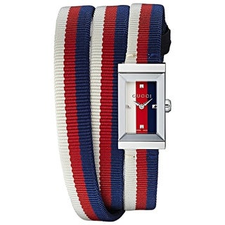 Gucci G-FrameMulticolored Dial Ladies Watch YA147502
