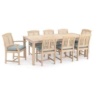 Kooper 9pc Dining Set in Bliss Blue by RST Brands
