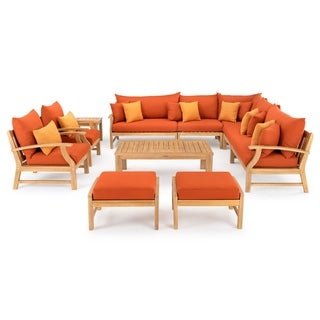 Link to Kooper 11pc Estate Collection in Tikka Orange by RST Brands Similar Items in Outdoor Sofas, Chairs & Sectionals