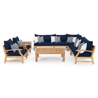 Link to Kooper 9pc Seating Set in Navy Blue by RST Brands Similar Items in Outdoor Sofas, Chairs & Sectionals