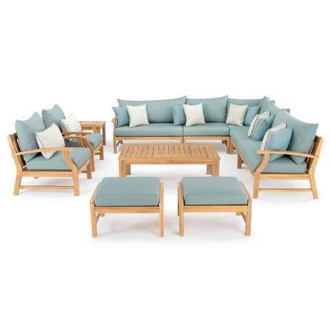 Kooper 11pc Estate Collection in Spa Blue by RST Brands