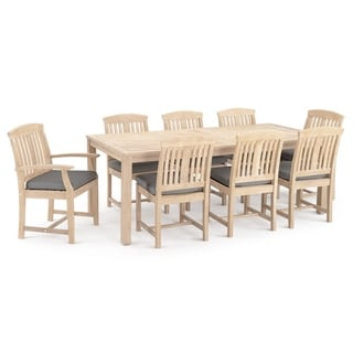 Kooper 9pc Dining Set in Charcoal Grey by RST Brands