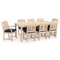 Kooper 9pc Dining Set in Navy Blue by RST Brands