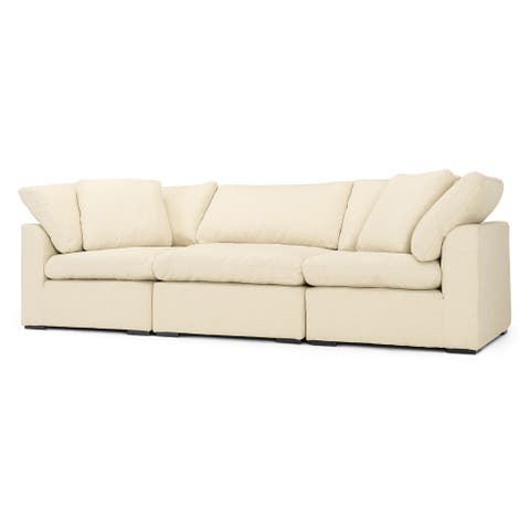 Aria 3pc Sofa Set in Beige by RST Brands