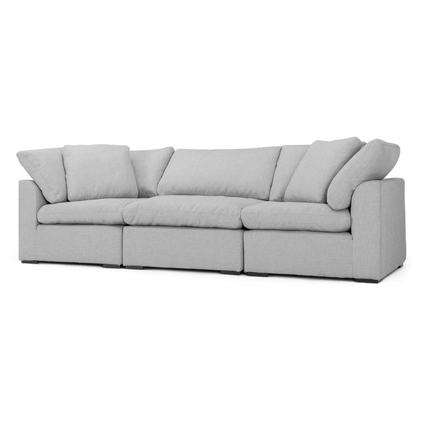 Aria 3pc Sofa Set in Grey by RST Brands