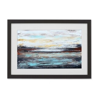 ArtWall Abstract Cold Framed Print - Grey