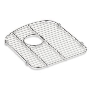 """Kohler Langlade Smart Divide Stainless Steel Sink Rack, 13-1/2"""" X 15-1/4"""", for Right-Hand Bowl"""