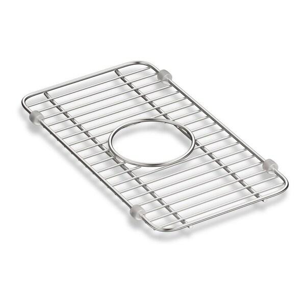 """Kohler Iron/Tones Smart Divide Stainless Steel Small Sink Rack, 8-1/4"""" X 14-3/8"""""""