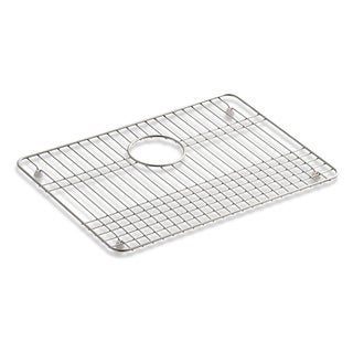 "Kohler Stainless Steel Sink Rack, 19-1/2"" X 14"" for Iron/Tones Kitchen Sinks"