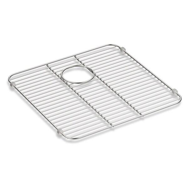 "Kohler Iron/Tones Stainless Steel Sink Rack, 13-3/8"" X 14-5/8"""