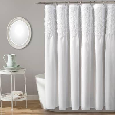 The Gray Barn Dogwood Shower Curtain