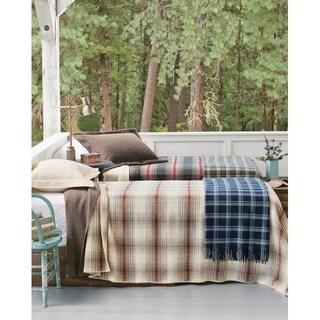 Pendleton EZ-Care Waverly Plaid Ivory King Blanket