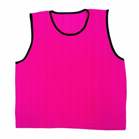 GoTEAM Pro Striped Mesh Sport Training Pinnies- Youth