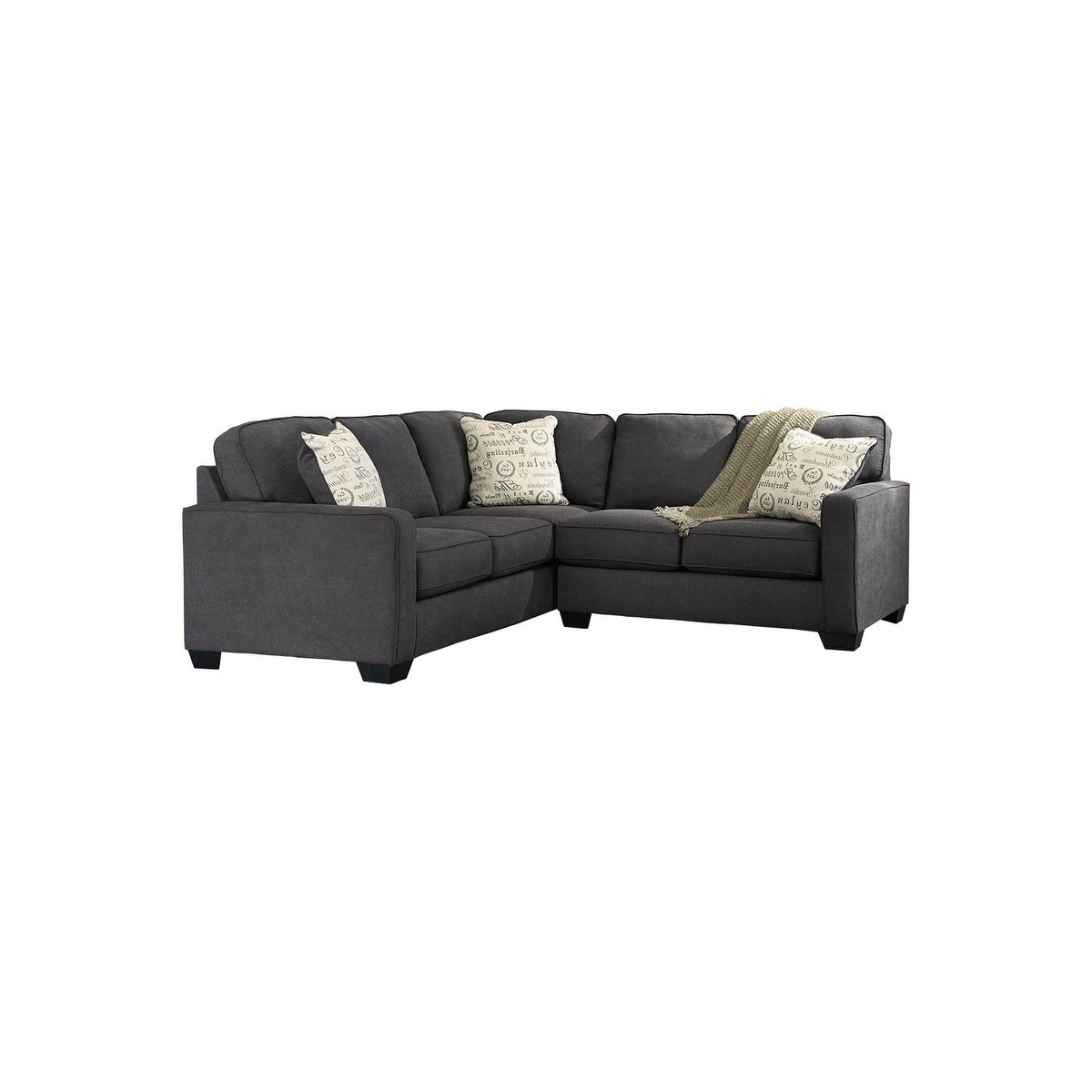 Pleasant Alenya 2 Piece Charcoal Sectional Cjindustries Chair Design For Home Cjindustriesco