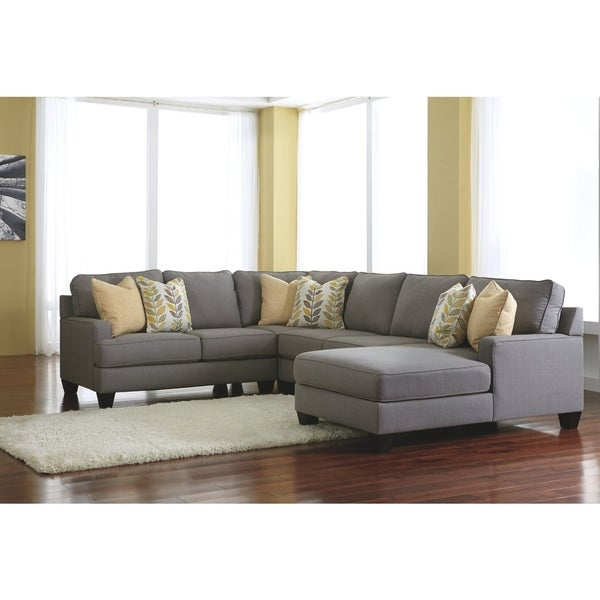 Sectional Sofa With Corner Table Wedge Ashley Furniture