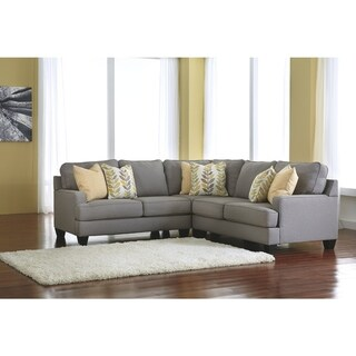 Chamberly 3-Piece Sectional - Grey