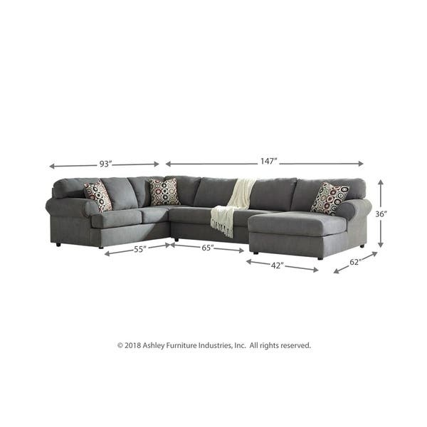 Awe Inspiring Shop Jayceon 3 Piece Sectional With Left Facing Chaise Creativecarmelina Interior Chair Design Creativecarmelinacom