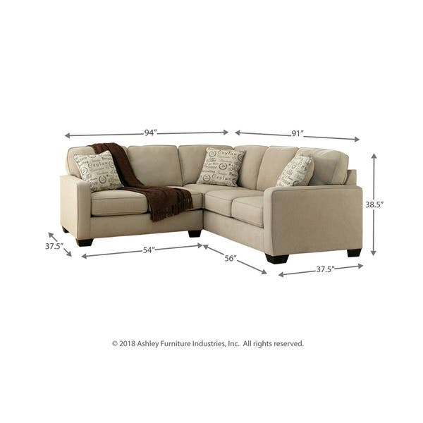 Astounding Shop Alenya 2 Piece Off White Sectional Sofa On Sale Machost Co Dining Chair Design Ideas Machostcouk