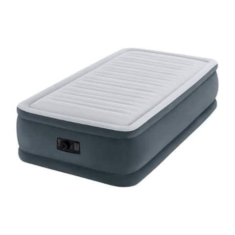 Intex Elevated Air Mattress Twin Pump Included