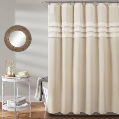 Porch & Den Kinney Tassel Shower Curtain