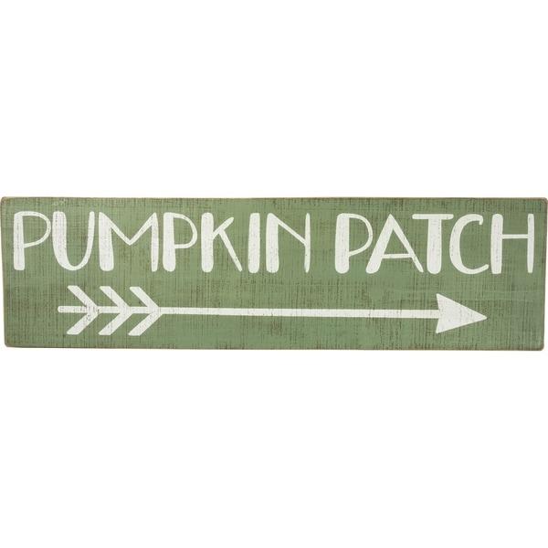 Sign - Pumpkin Patch