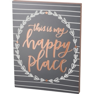 Box Sign - This Is My Happy Place
