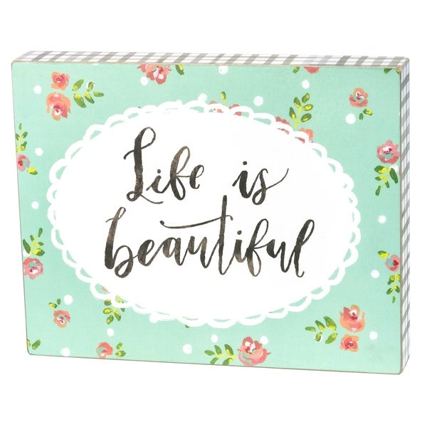 Box Sign - Life Is Beautiful