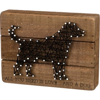 String Art - All You Need Is Love... And A Dog