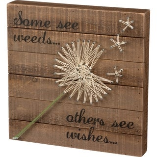 String Art - Some See Weeds… Others See Wishes...