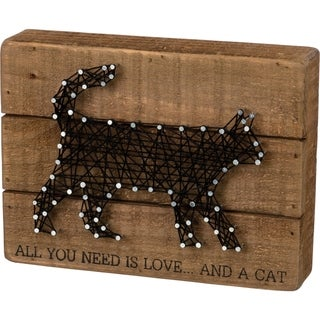 String Art - All You Need Is Love... And A Cat
