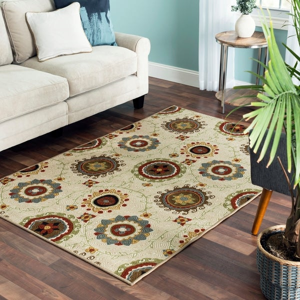 Perrine Reversible Area Rug - 53 inches x 79 inches