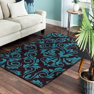 Mallory Reversible Area Rug - 53 inches x 79 inches